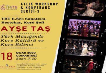 FAMİ MSD Aylık Workshop&Konferans Serisinin Üçüncüsü, 18 Ocak 2020 Saat 17.00'de icra edilmiştir.