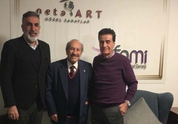 TRT E.Ses ve Devlet Sanatçısı, Sayın Mustafa Sağyaşar'ın ziyareti (22.02.2020)