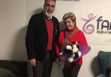 TRT E.Ses Sanatçısı, Cumhuriyet Korosu Şefi Sn. Serap Kuzey'in ziyareti (08.02.2020)
