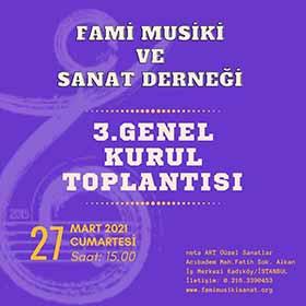 FAMİ MSD 3. GENEL KURUL TOPLANTISI